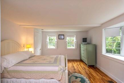 Edgartown Martha's Vineyard vacation rental - Bedroom 1 Has Queen Bed and TV - First Floor