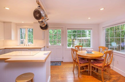 Edgartown Martha's Vineyard vacation rental - Open Kitchen and Dining Area