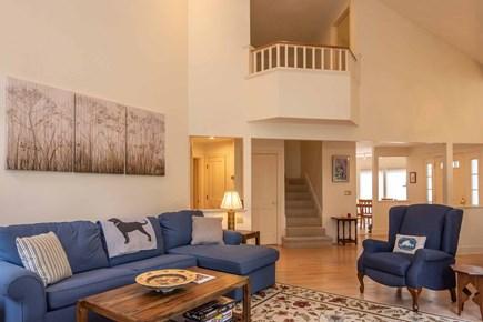 Vineyard Haven Martha's Vineyard vacation rental - Second Floor Balcony Overlooks Living and Dining Rooms