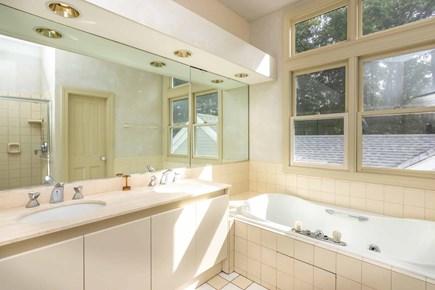 Vineyard Haven Martha's Vineyard vacation rental - Master Bathroom Has Soaking Tub and Walk-In Shower - Second Floor