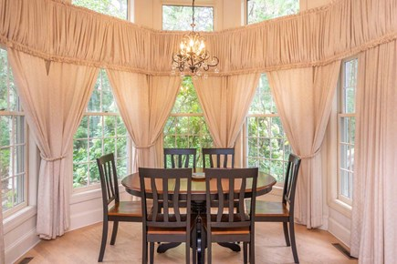 Vineyard Haven Martha's Vineyard vacation rental - Open Formal Dining Room Has Seating for Six