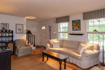 Vineyard Haven Martha's Vineyard vacation rental - Living Room Has Comfortable Seating for Gatherings and TV
