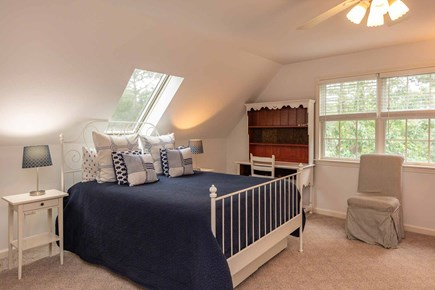 Vineyard Haven Martha's Vineyard vacation rental - Bedroom 2 Has Queen Bed and Two Twin Beds - 2nd Floor