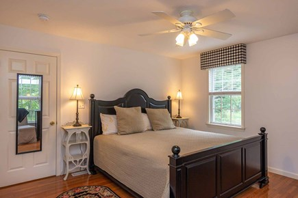 Vineyard Haven Martha's Vineyard vacation rental - Master Bedroom Has a Queen Bed and TV - 1st Floor