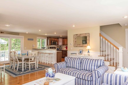 Vineyard Haven Martha's Vineyard vacation rental - Open Living, Dining and Kitchen