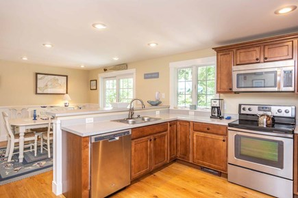 Vineyard Haven Martha's Vineyard vacation rental - Kitchen Overlooking Dining Room