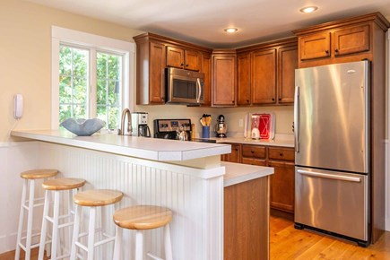 Vineyard Haven Martha's Vineyard vacation rental - Breakfast Bar Overlooks the Kitchen