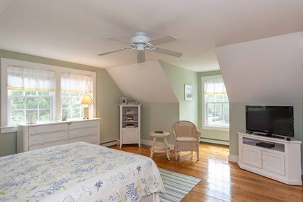 Vineyard Haven Martha's Vineyard vacation rental - Bedroom 2 Has Sitting Area, Large Screen TV -2nd Flr.
