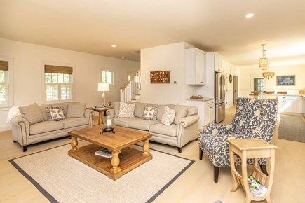 West Tisbury Martha's Vineyard vacation rental - Open Living & Kitchen Area