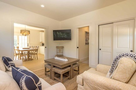 West Tisbury Martha's Vineyard vacation rental - Stylishly Furnished TV/Family Room Opens to Dining