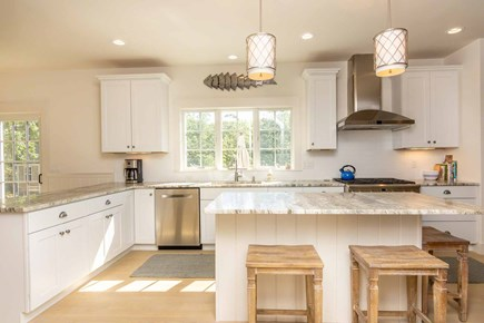West Tisbury Martha's Vineyard vacation rental - Kitchen Has Granite Counters & Stainless Appliances