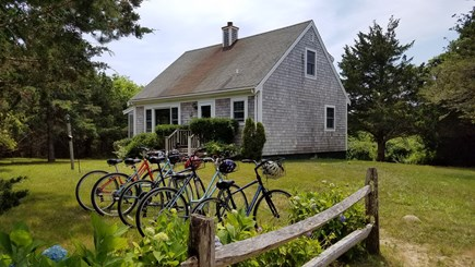 Edgartown Martha's Vineyard vacation rental - Three BR Cape with spacious yard. Bike to town and beach.