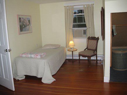 Edgartown Martha's Vineyard vacation rental - Second floor bedroom with queen and twin beds.