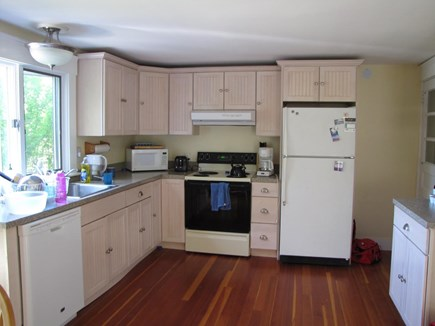 Edgartown Martha's Vineyard vacation rental - Kitchen with hardwood floor and all appliance