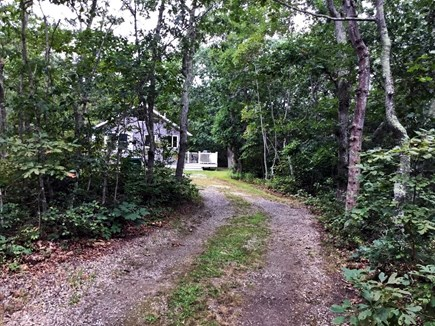 Chappaquiddick Martha's Vineyard vacation rental - Driveway