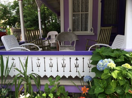 Oak Bluffs Martha's Vineyard vacation rental - Relax on the porch...rock, sip, chat and eat.