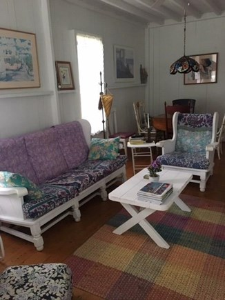 Oak Bluffs Martha's Vineyard vacation rental - Read, listen to music or watch tv in the comfortable living room.