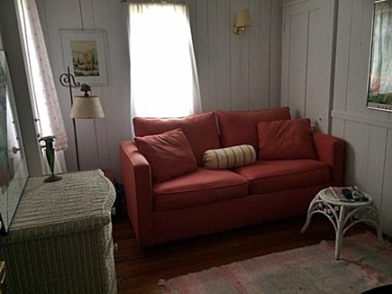 Oak Bluffs Martha's Vineyard vacation rental - The downstairs bedroom has a queen sofa bed.