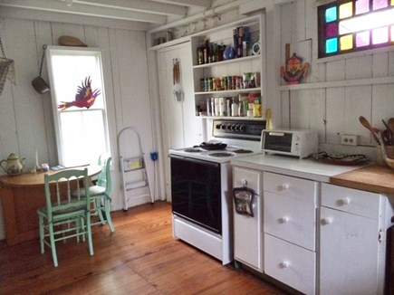 Oak Bluffs Martha's Vineyard vacation rental - The spacious kitchen makes cooking easy with grills right near by