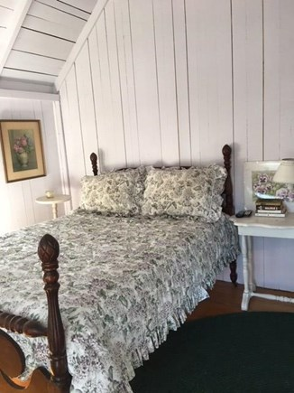 Oak Bluffs Martha's Vineyard vacation rental - The master bedroom has lots of windows, a ceiling fan and a porch