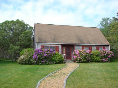West Tisbury Martha's Vineyard vacation rental - Recently updated cottage with new deck, porch and outdoor shower
