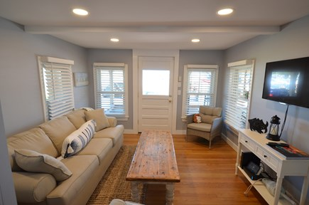 Oak Bluffs Martha's Vineyard vacation rental - Living room with sleeper sofa & Flat screen TV