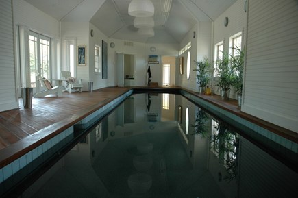 Chappaquiddick, Edgartown Martha's Vineyard vacation rental - Indoor Lap Pool, spring water, all natural, no chemicals