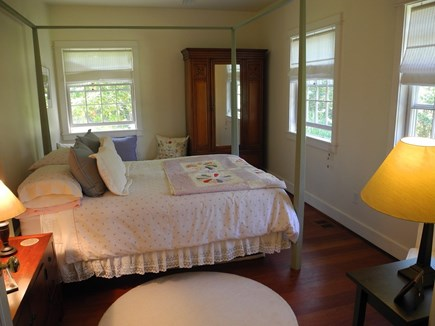 Chappaquiddick, Edgartown Martha's Vineyard vacation rental - Guest Bedroom, skylight, adjoining bathroom