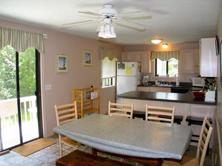 Katama - Edgartown Martha's Vineyard vacation rental - Slider to back deck
