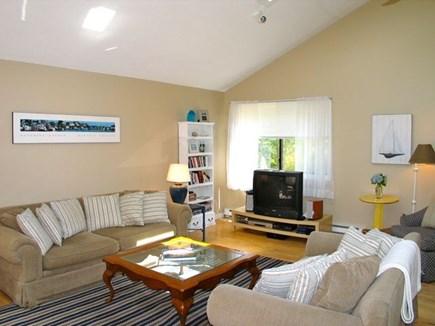 Katama - Edgartown Martha's Vineyard vacation rental - Living room, TV has been updated