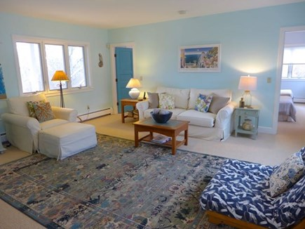 Chilmark Martha's Vineyard vacation rental - First floor living room