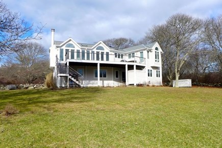 Chilmark Martha's Vineyard vacation rental - Gorgeous large 3 acre lot with Atlantic water view