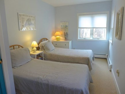 Chilmark Martha's Vineyard vacation rental - First floor bedroom with twins