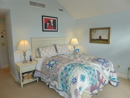 Chilmark Martha's Vineyard vacation rental - Upstairs bedroom with queen