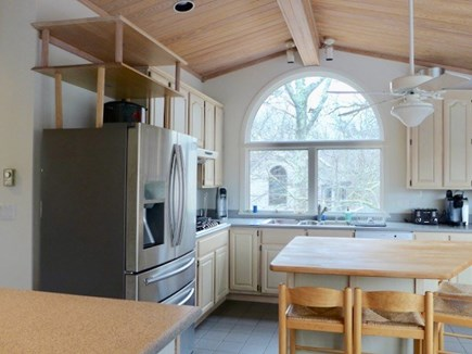 West Tisbury Martha's Vineyard vacation rental - Kitchen with eat in area.