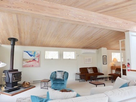 West Tisbury Martha's Vineyard vacation rental - Large open, sunny and bright living and dining room.