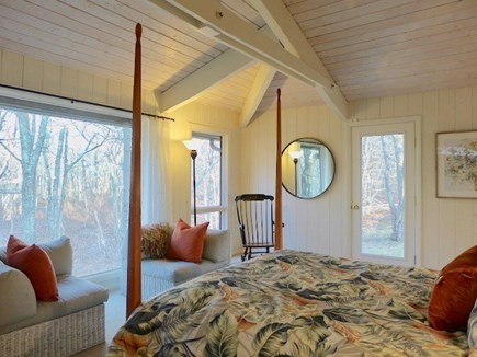 West Tisbury Martha's Vineyard vacation rental - Master bedroom with  queen and private bath.