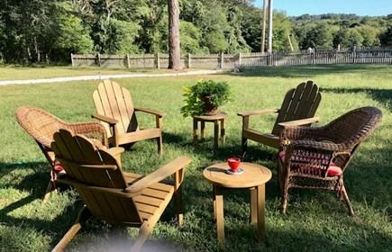 Chilmark Martha's Vineyard vacation rental - Plan to relax in the wonderful yard.