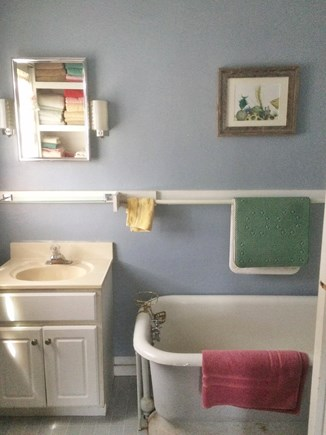 Chilmark Martha's Vineyard vacation rental - Bathroom 2.  Beach towels included.