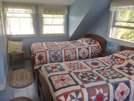Chilmark Martha's Vineyard vacation rental - Bedroom 3, Upstairs All Linen included.