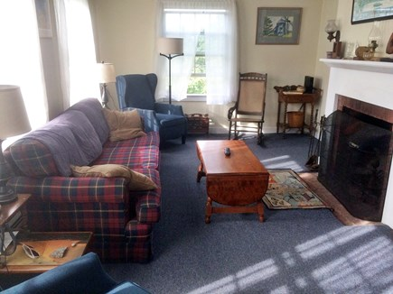 Chilmark Martha's Vineyard vacation rental - Living/T.V. Room, with cable T.V.