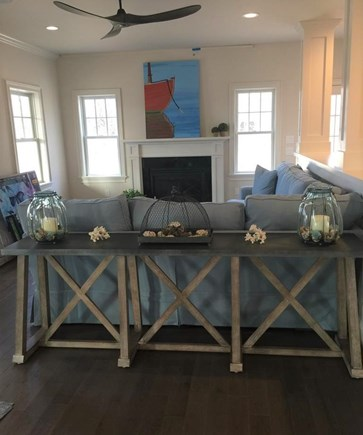 Oak Bluffs/East Chop Martha's Vineyard vacation rental - Spacious Living Room