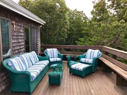 Oak Bluffs Martha's Vineyard vacation rental - Enjoy the large deck with waterviews