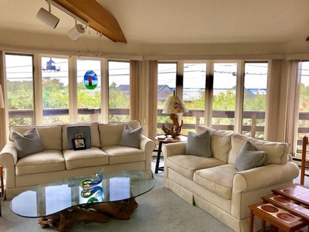 Oak Bluffs Martha's Vineyard vacation rental - Large comfortable living room, open dining and kitchen