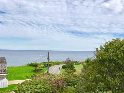 Oak Bluffs Martha's Vineyard vacation rental - Enjoy your lunch on the deck.