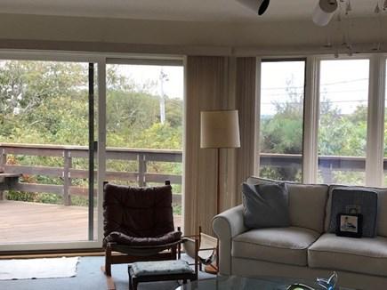 Oak Bluffs Martha's Vineyard vacation rental - Living room  overlooking the East Chop lighthouse