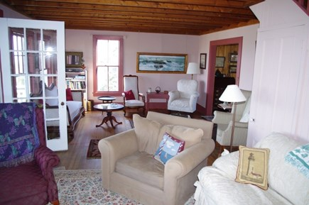 Oak Bluffs Martha's Vineyard vacation rental - Large expansive living room with views