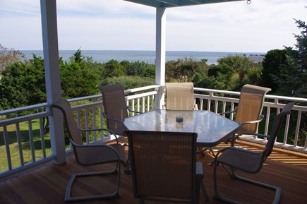 Oak Bluffs Martha's Vineyard vacation rental - View towards Oak Bluffs