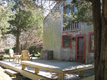 West Tisbury Martha's Vineyard vacation rental - This gorgeous deck can be used for sunbathing or dancing.