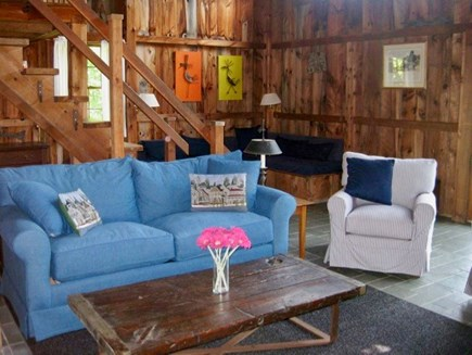 West Tisbury Martha's Vineyard vacation rental - Pops of color can be enjoyed in every room.
